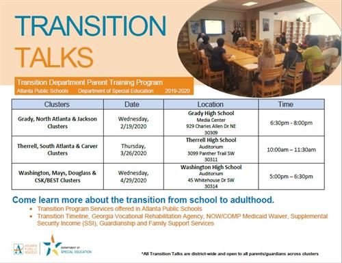 Transition Talks